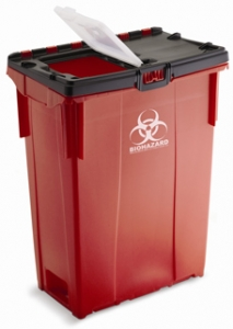 Curry Transfer and Recycling's 35-gallon garbage can