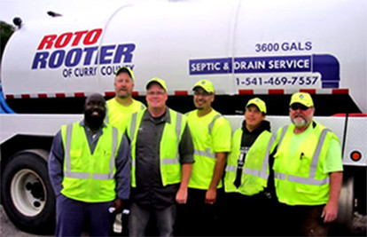 Curry Transfer Recycling Roto Rooter Team - Call us today (541) 469-7557